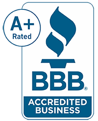 BBB Accreditation A+ rating