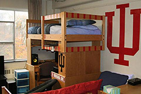 Dorm Room at Indiana University