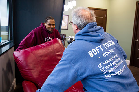 Soft Touch Moving Professional working
